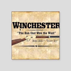 """winchester_mouse Square Sticker 3"""" x 3"""""""