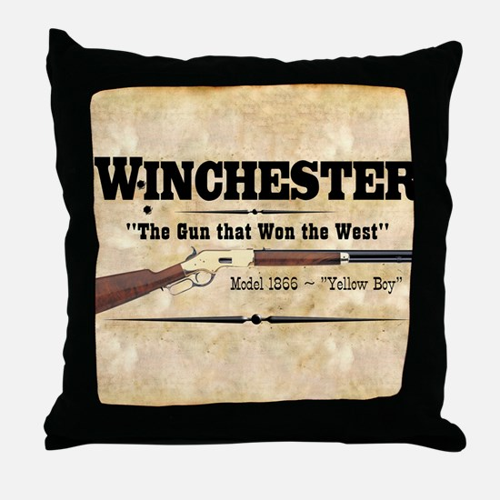 winchester_mouse Throw Pillow