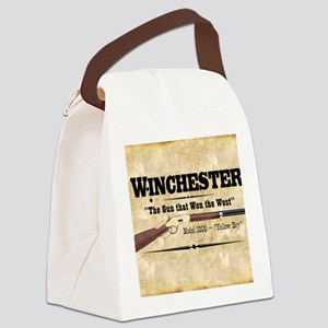 winchester_mouse Canvas Lunch Bag