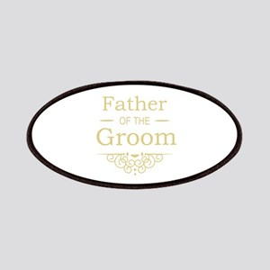 Father of the Groom gold Patches