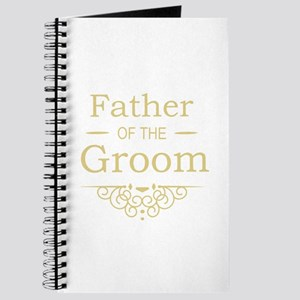 Father of the Groom gold Journal