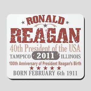 Ronald Reagan 2A Mousepad