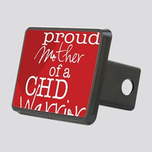 proud mother copy Rectangular Hitch Cover
