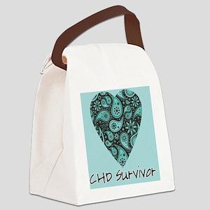tshirt paisley Canvas Lunch Bag