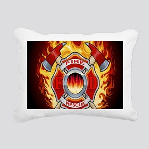 FIRERESCUE Rectangular Canvas Pillow