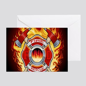 FIRERESCUE Greeting Card