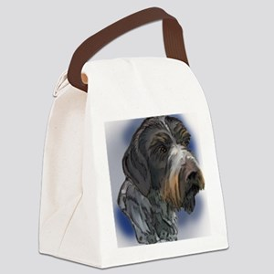 german_wirehaired_pointer1 Canvas Lunch Bag