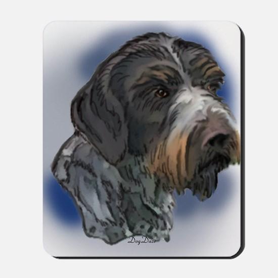 german_wirehaired_pointer1 Mousepad