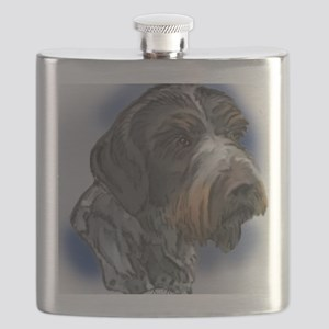 german_wirehaired_pointer1 Flask