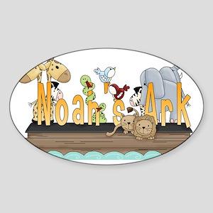 Noahs_Ark_WA Sticker (Oval)