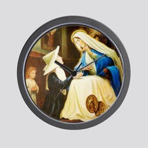 Saint Chaterine Laboure  LorAnge Art CP Wall Clock