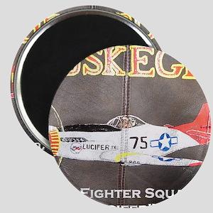 Tuskegee P-51 Lucifer Magnet