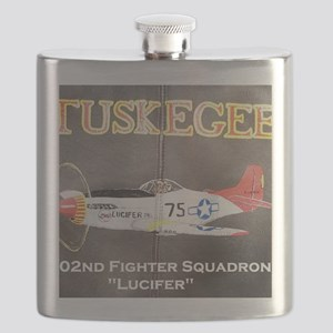 Tuskegee P-51 Lucifer Flask