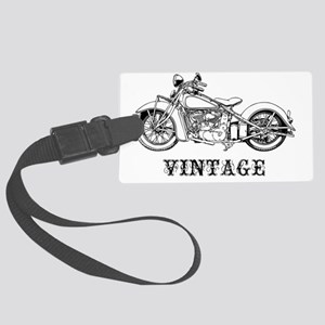 classic2-vint-LTT Large Luggage Tag