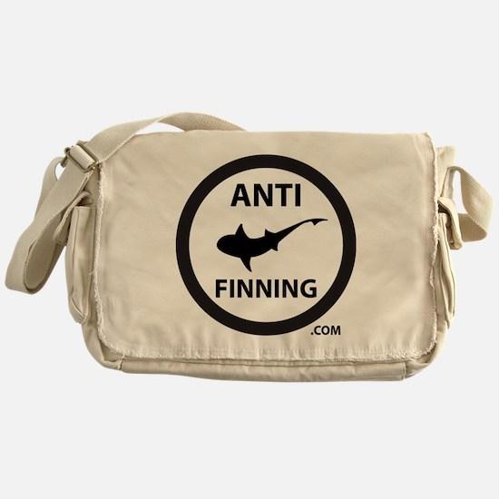 Shark Art (Tighter logo) - Anti-Shar Messenger Bag