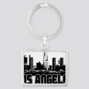 Los Angeles Skyline Landscape Keychain