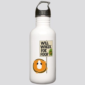 willwheekforfood Stainless Water Bottle 1.0L
