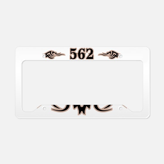 Long Beach 562 License Plate Holder