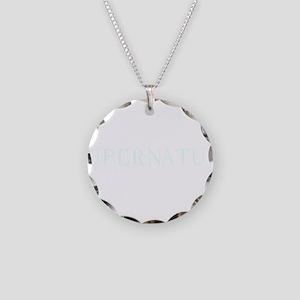 Supernatural creepy dark Necklace Circle Charm