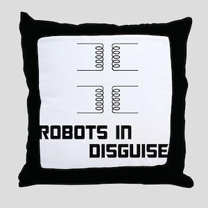transformers BLK Throw Pillow