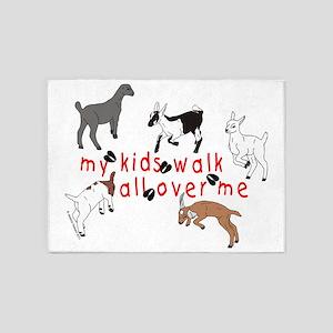 KidsWalkAllOverMe 5'x7'Area Rug