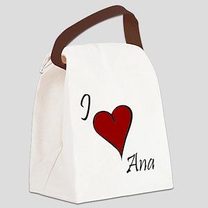 Ana Canvas Lunch Bag