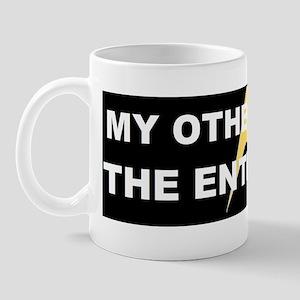 The enterterprise star trek insignasd Mug