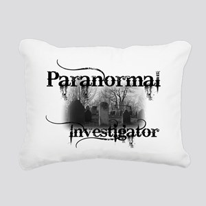 paranormal investigator  Rectangular Canvas Pillow