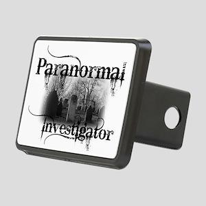 paranormal investigator li Rectangular Hitch Cover