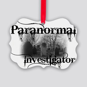 paranormal investigator light Picture Ornament