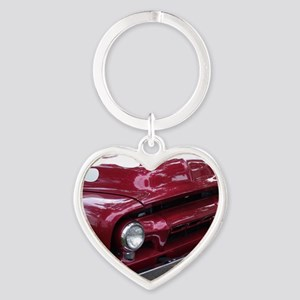 ford Heart Keychain
