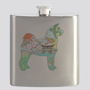 Akita National Treasure Flask