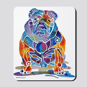 English Bulldogs Mousepad