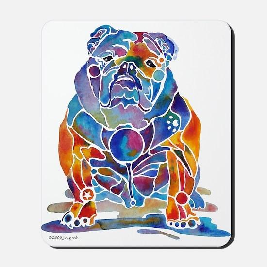 English Bulldogs Mousepad