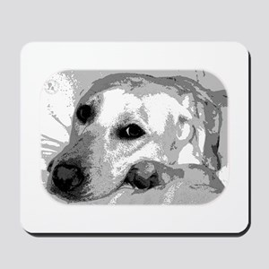 Sad White Lab Mousepad