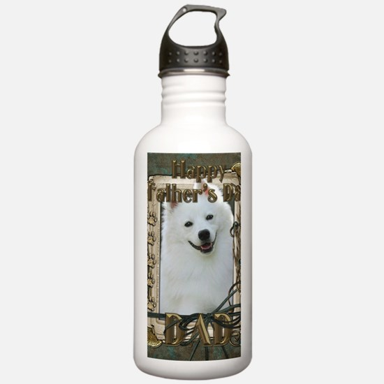 Stone_Paws_American_Es Sports Water Bottle
