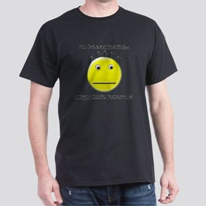 Im Procrastinating I Might Smile Tomo Dark T-Shirt