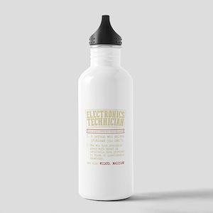 Electronics Technician Stainless Water Bottle 1.0L