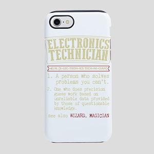 Electronics Technician Diction iPhone 7 Tough Case