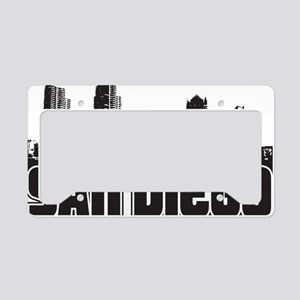San Diego Skyline License Plate Holder