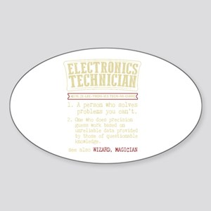 Electronics Technician Dictionary Term T-S Sticker