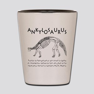 Ankylosaurus Shot Glass