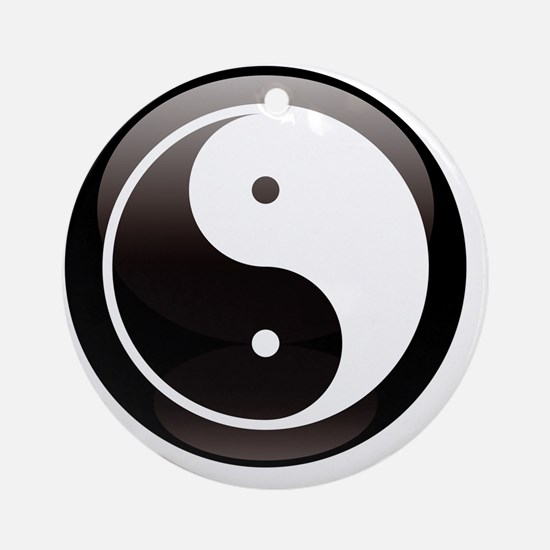 yin Round Ornament