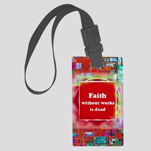 Untitled - 4r Large Luggage Tag