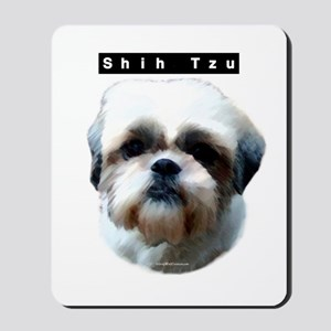 Shih Tzu Head Mousepad