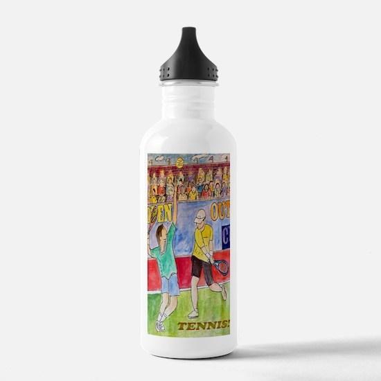 tennis journal Water Bottle