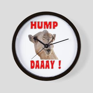 Hump Daaay Camel Wall Clock