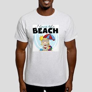 123GIRLLOVEBEACH Light T-Shirt
