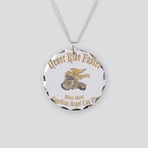 angel-fast-DKT Necklace Circle Charm
