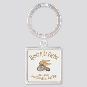 angel-fast-DKT Square Keychain